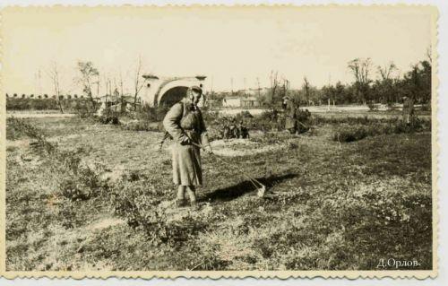 Разминирование освобожденного города, 1943-1944 гг.